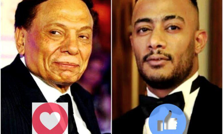 عادل إمام ومحمد رمضان في مسلسل لرمضان ٢٠٢٢